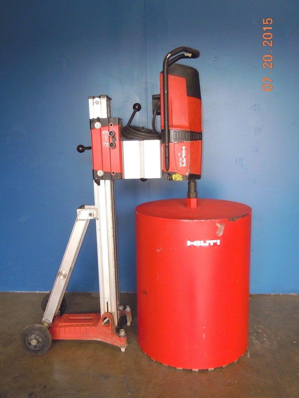 Hilti Dd500 Diamond Coring Core Bore Drill Rig Set 24