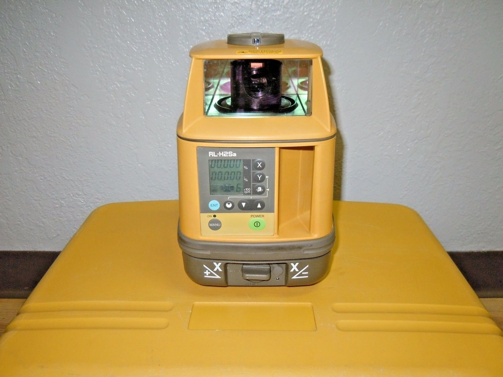 Topcon Rl H2sa Dual Slope Machine Control Grade Laser